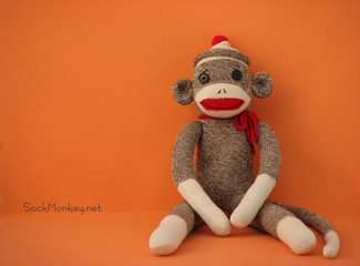 Sock Monkey Kits - Only $13 - (Sock Monkey.net)