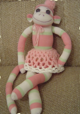 FREE SOCK MONKEY KNITTING PATTERNS - VERY SIMPLE FREE ...