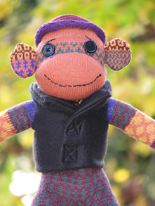 Socklady Sock Monkey